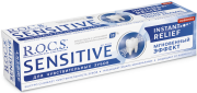 ЗУБНАЯ ПАСТА R.O.C.S SENSITIVE Instant Relief